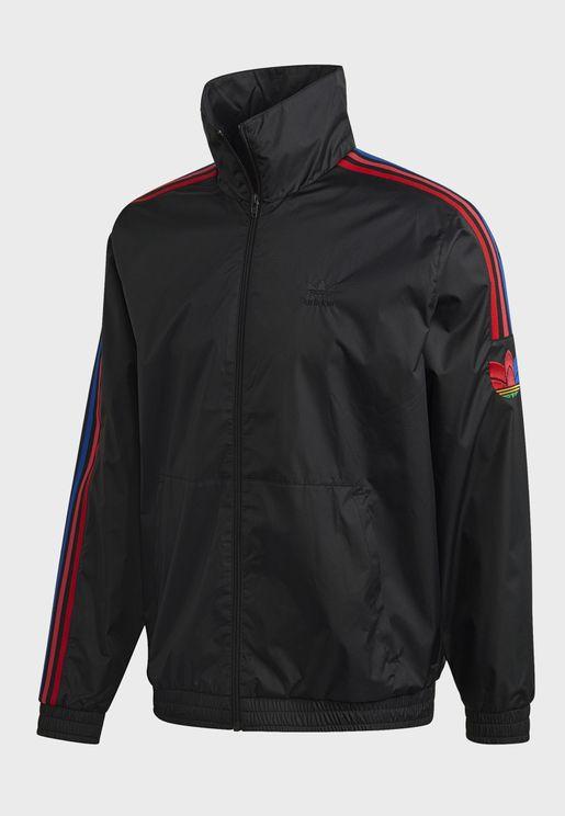 adicolor 3 Stripe Trefoil Track Jacket