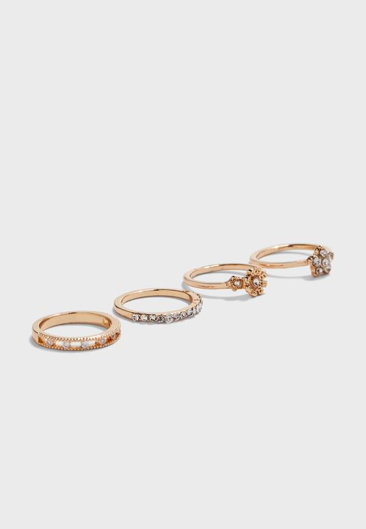 Merula Rings Set