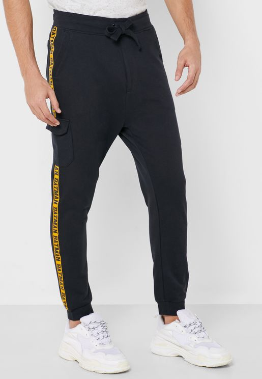 Batman Side Stripe Sweatpants