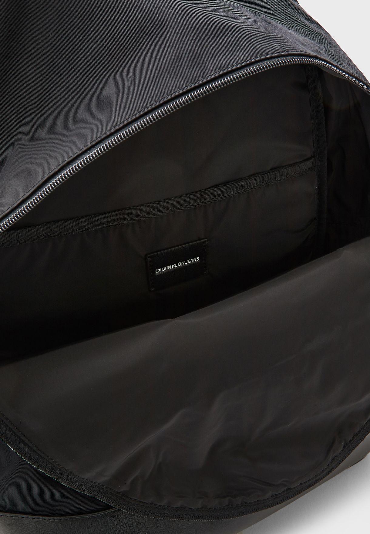 Monogram Logo Backpack