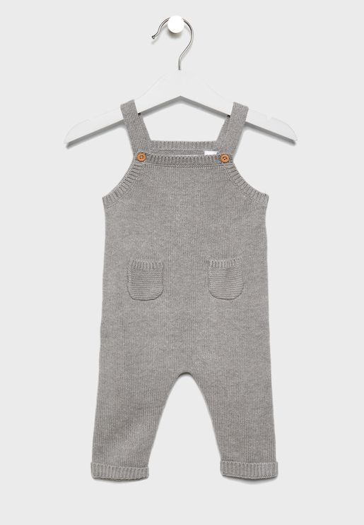 Infant Knitted Dungaree