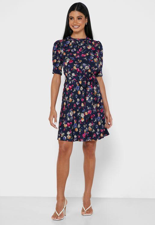 Felippo Floral Print Dress