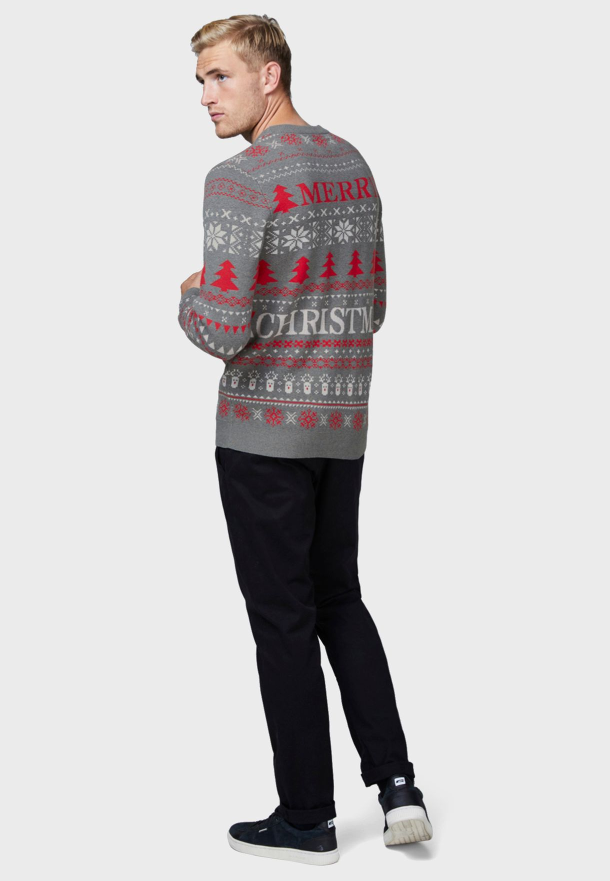 Rudolph Merry Christmas Sweater