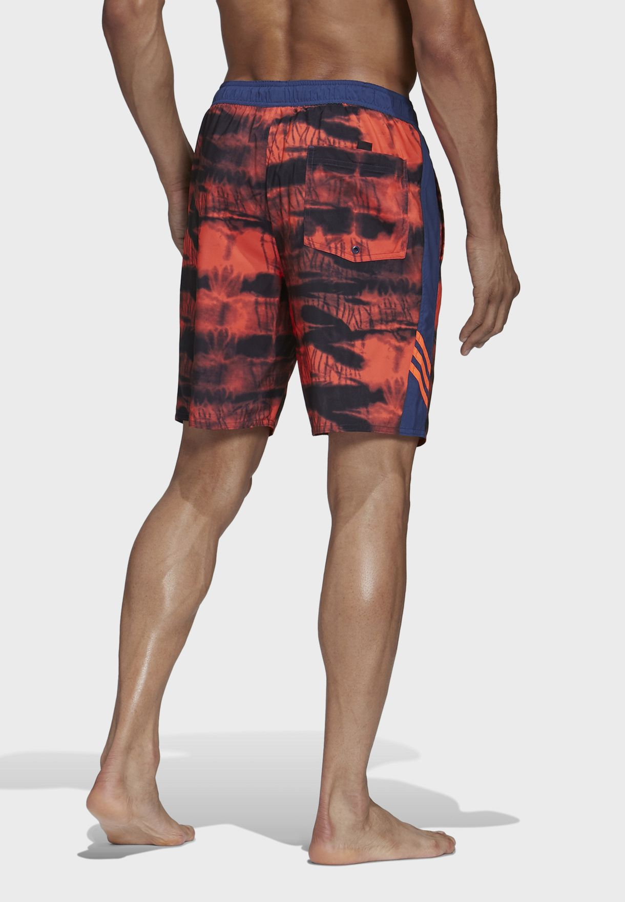 3 Stripe Graphic Swim Shorts