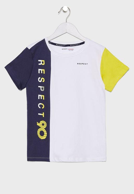 Teen Color Block T-Shirt