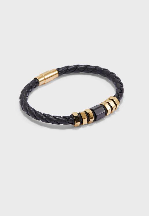 Braided Smart Bracelet