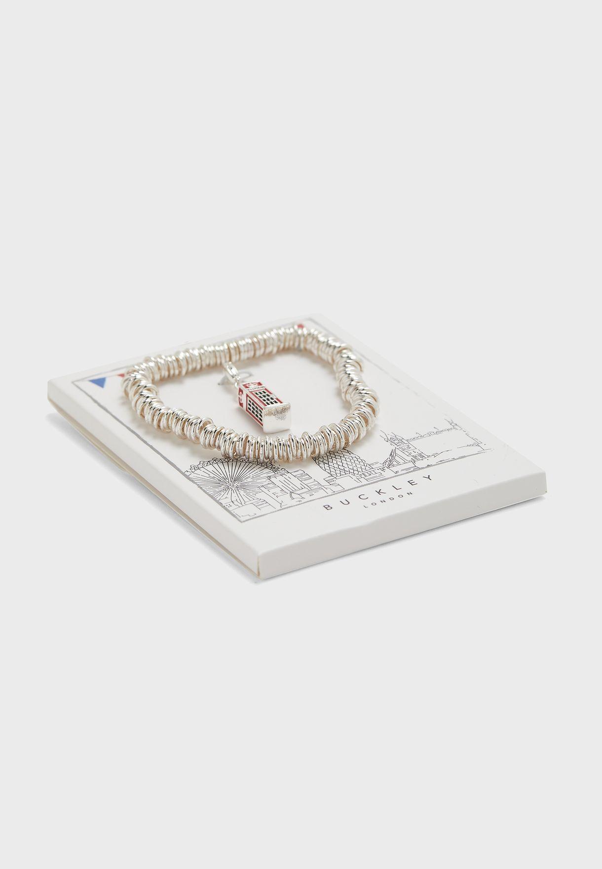 Telephone Box Candy Bracelet