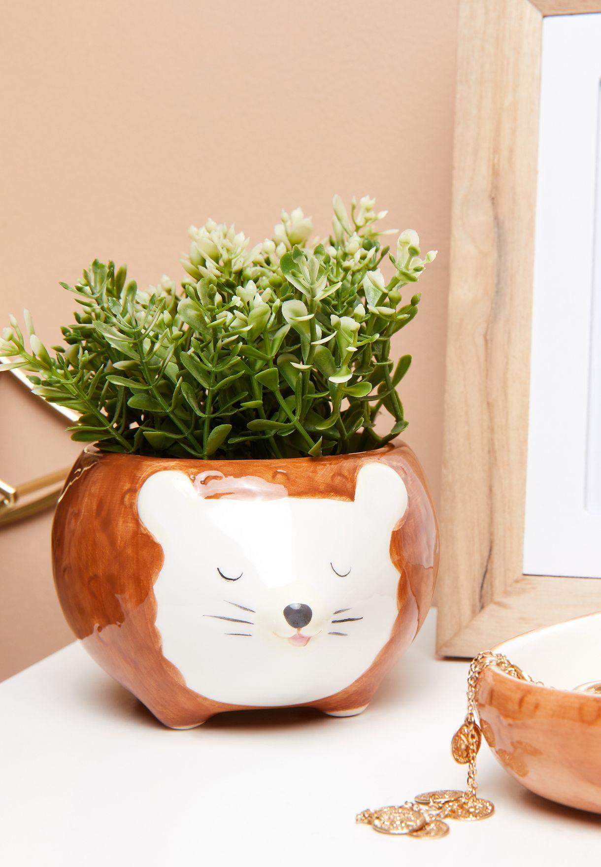 Hettie Hedgehog Planter