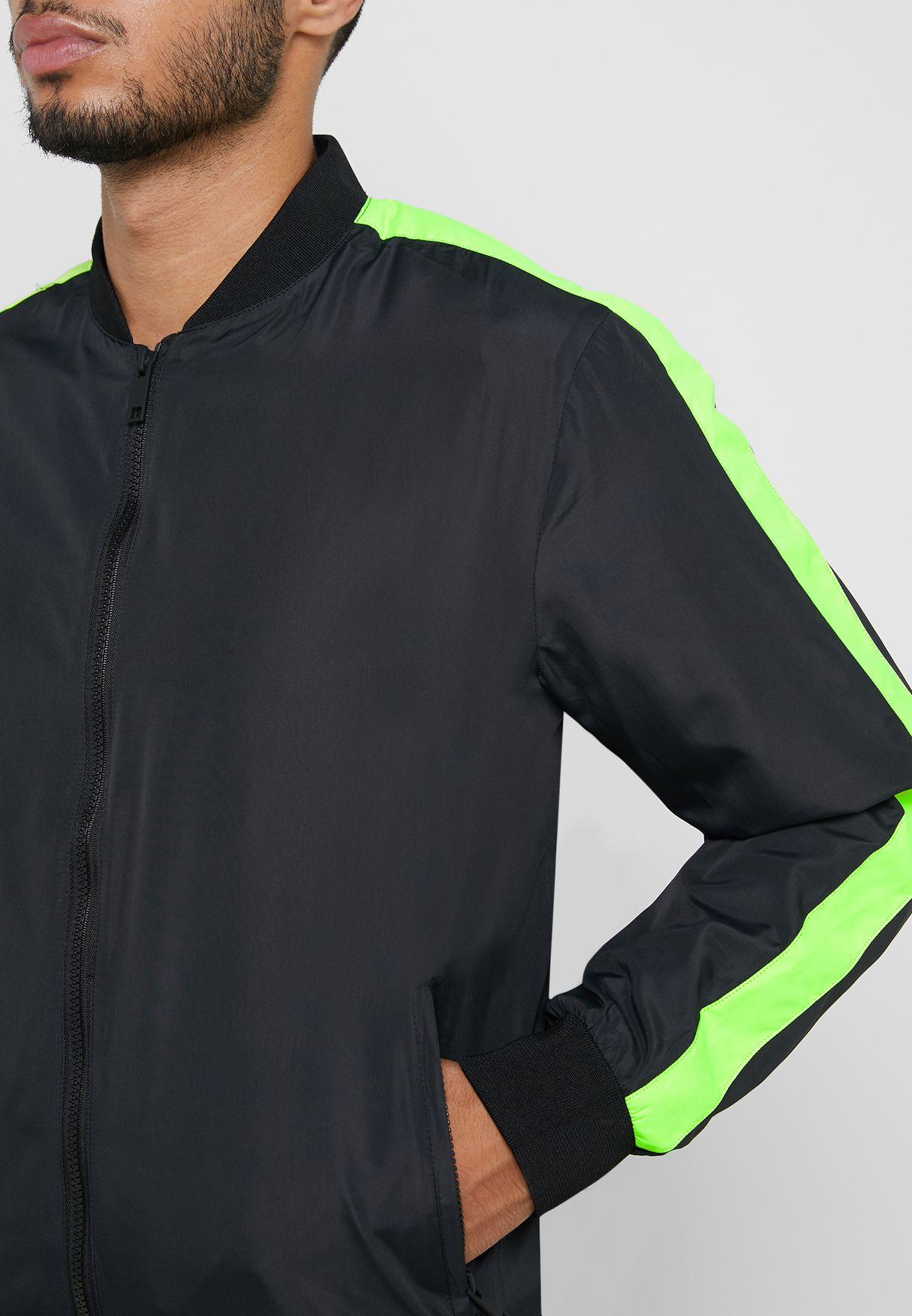 Neon Arm Stripe Jacket