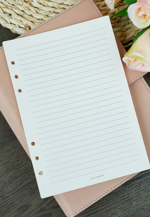 Note Page Inserts