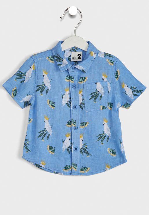 Kids Resort Tie Dye Shirt