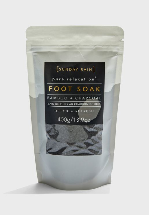 Sunday Rain Foot Soak Charcoal