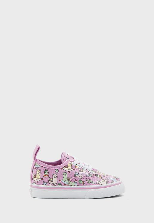 حذاء كانفاس مطبع