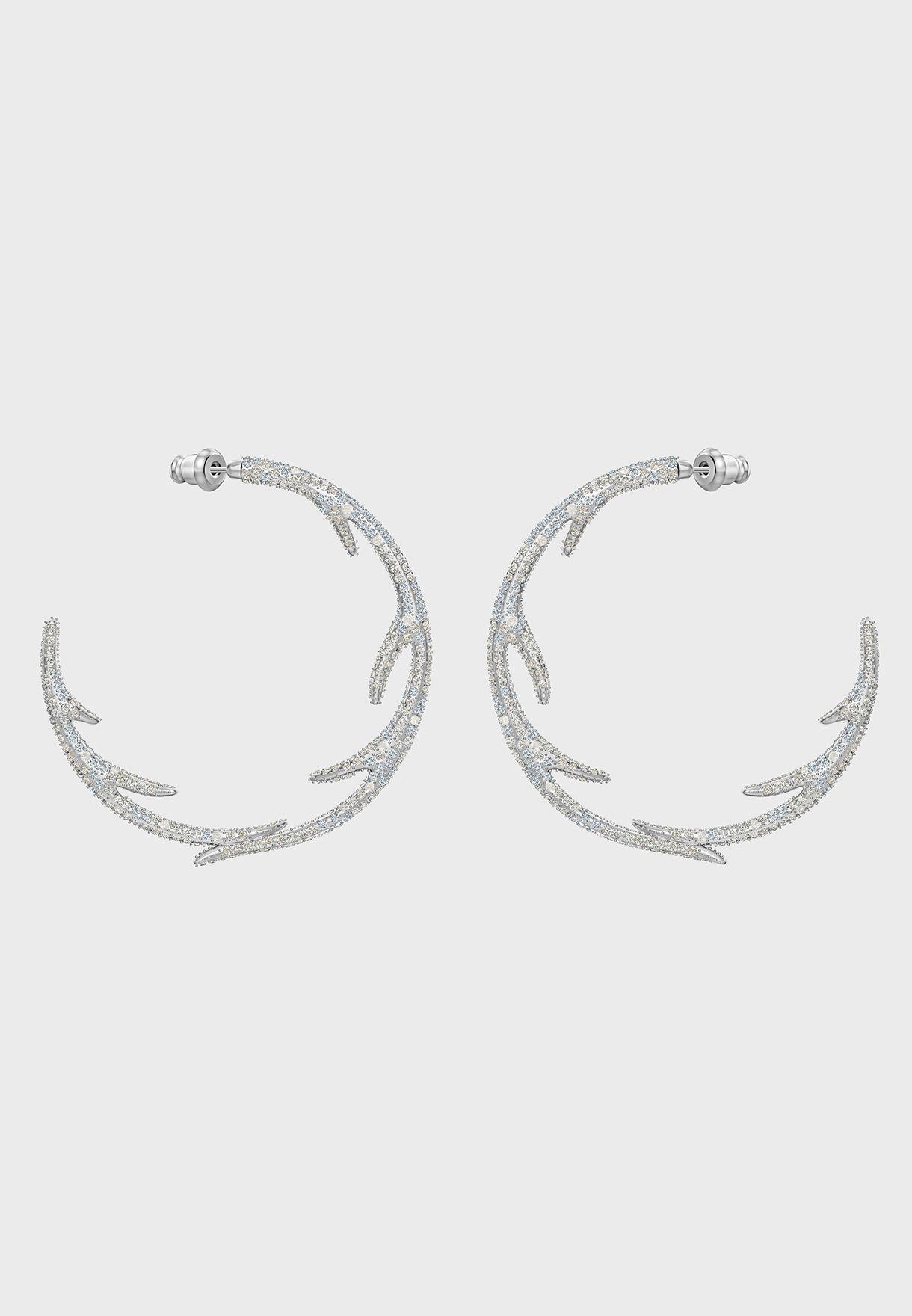 Polar Bestiary Hoop Earrings