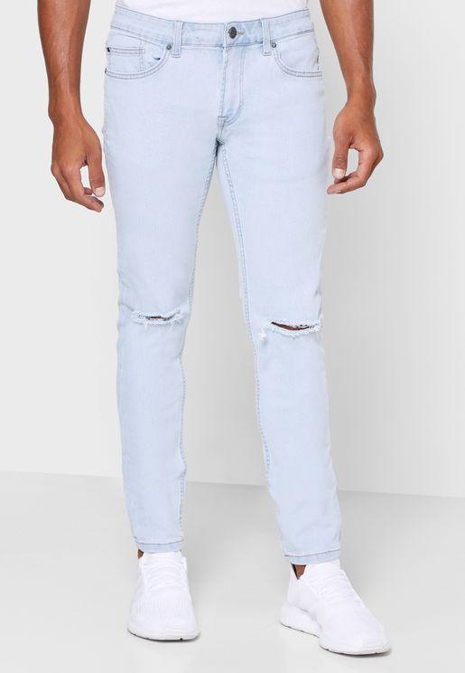 جينز ضيق جدا