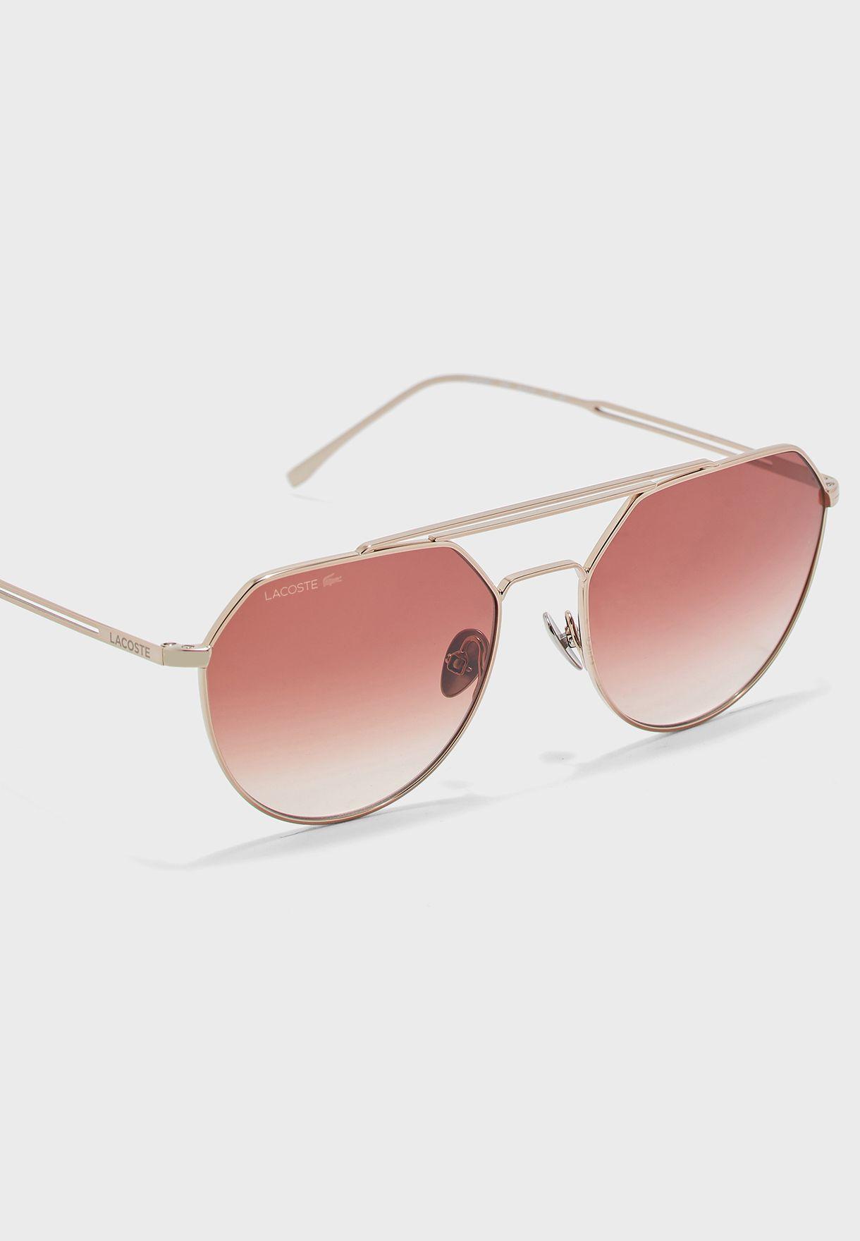 L220SPC Brow Bar Hexa Sunglasses