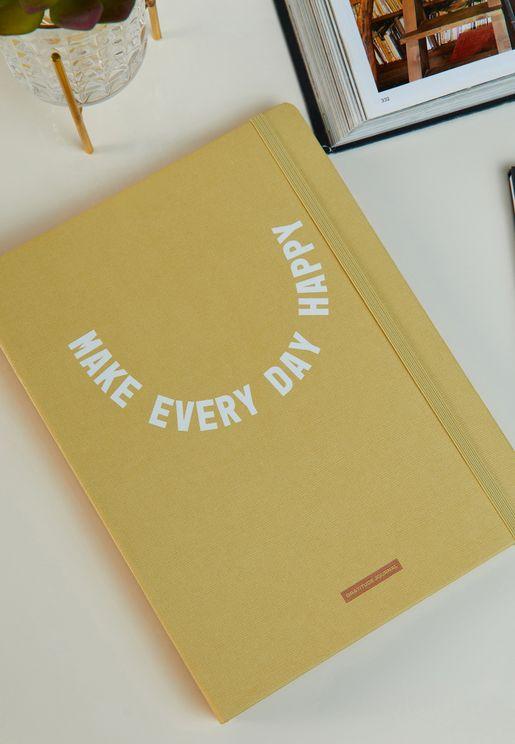 دفتر انشطة اجعل كل يوم سعيد