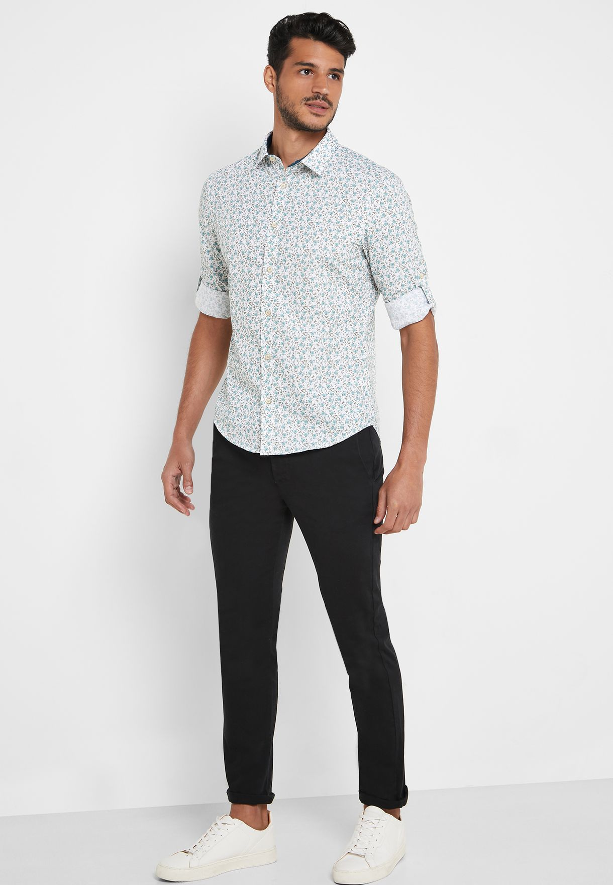 AOP Floral Regular Fit Shirt