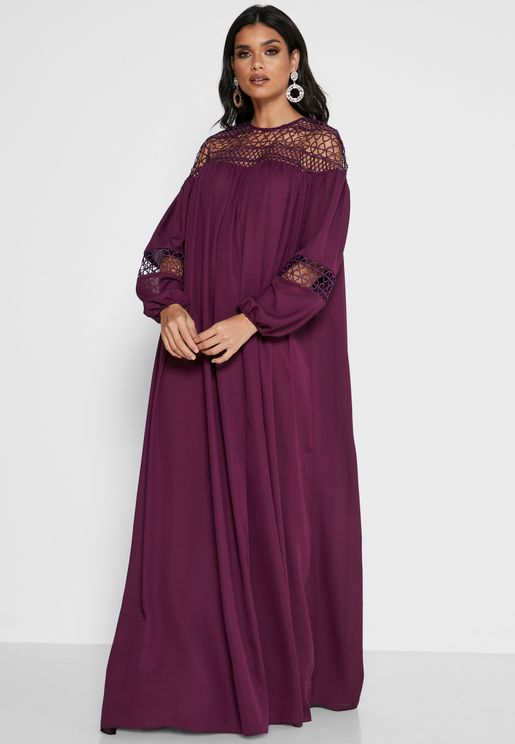فستان كروشيه