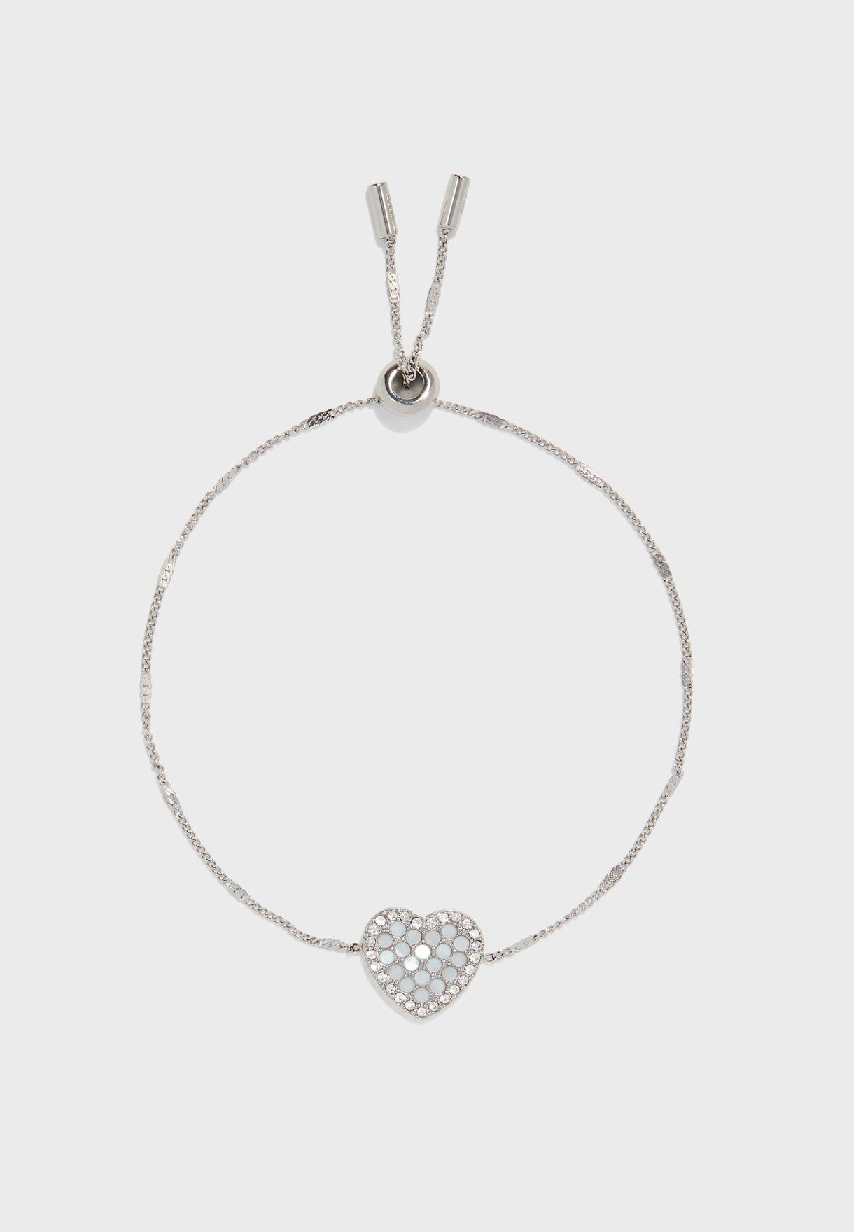 Studded Heart Bracelet