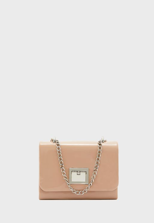 Round Flap Over Clutch