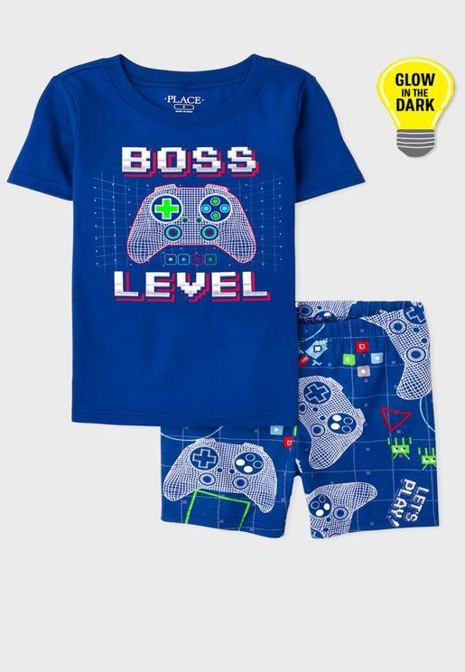 Kids Boss Level Pyjama Set