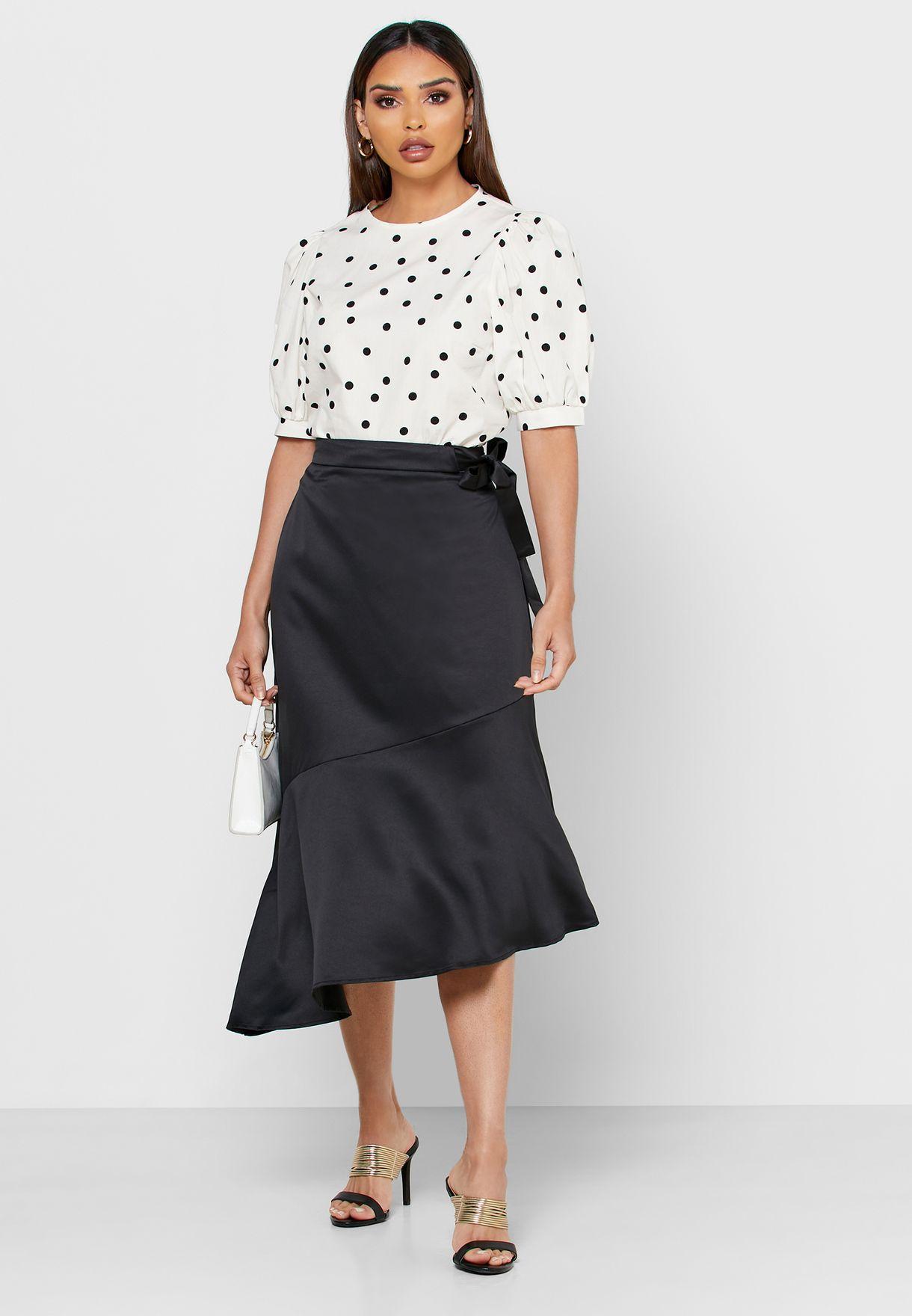 Seam Detail Skirt