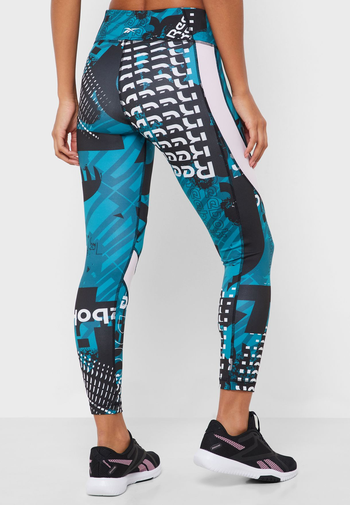 Workout Ready Meet You There AOP 7/8 Tights