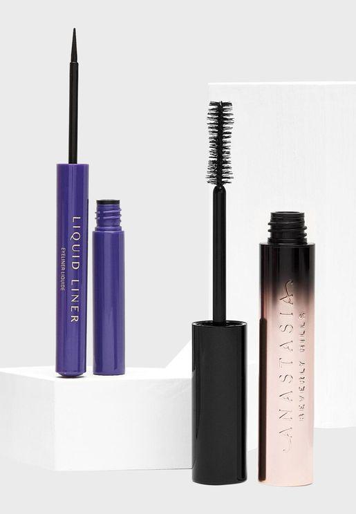 Eye Brag Eyeliner + Mascara Kit