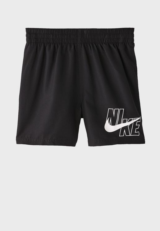 """Youth 4"""" Volley Shorts"""
