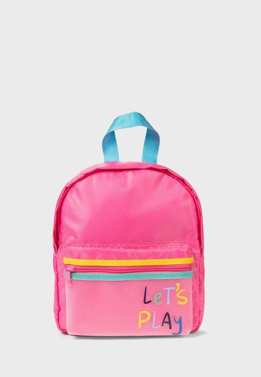 Kids Let's Play Bagpack