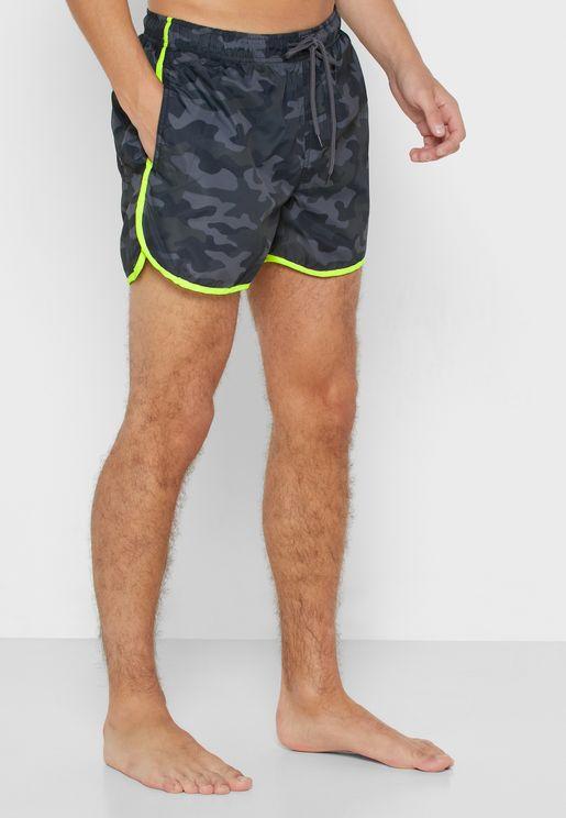 شورت سباحة مع سروال