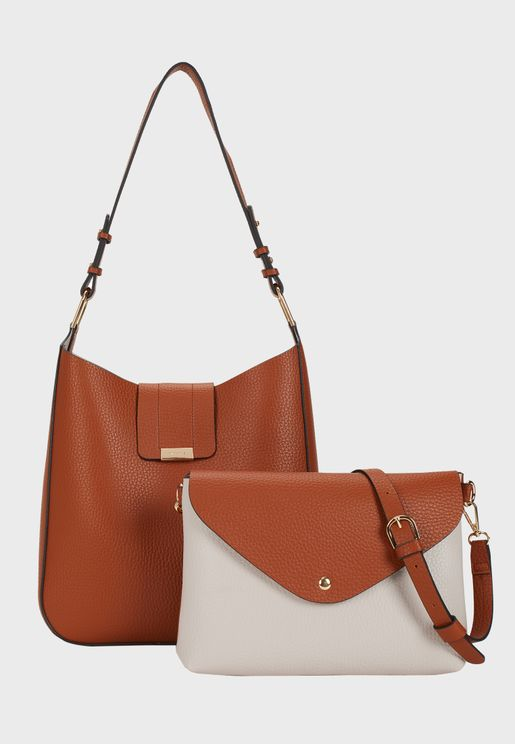 Avenue Zip Closure Crossbody