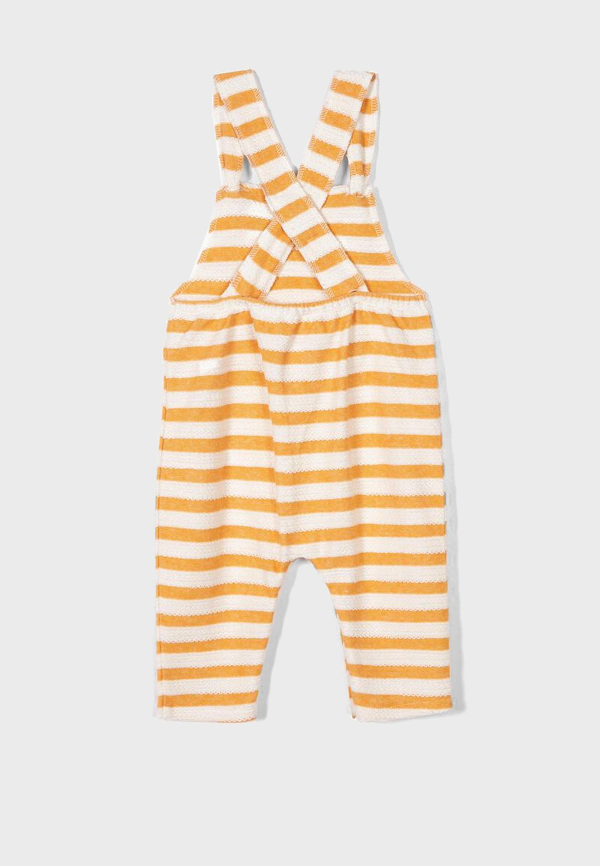 Infant  Color Striped Dungaree