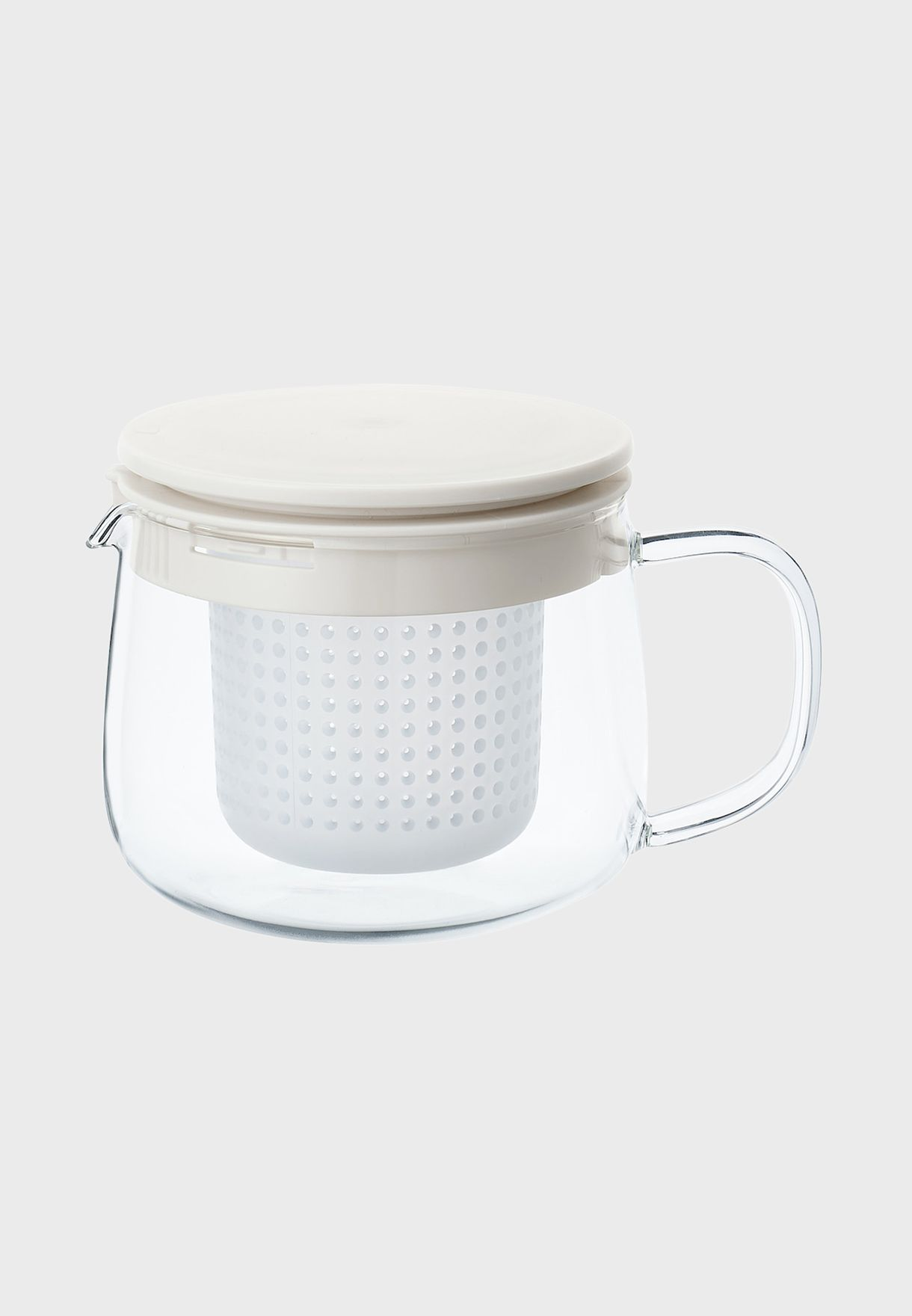 Small Heat Proof Glass Pot