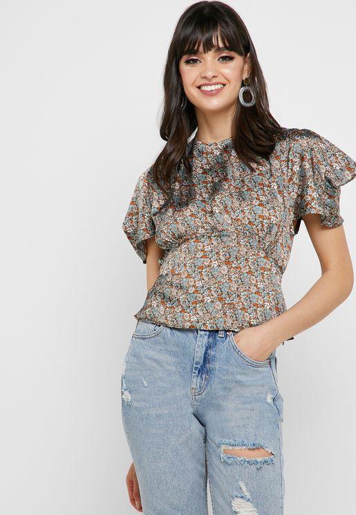 34a7ca6685e Topshop Short Sleeves Tops for Women