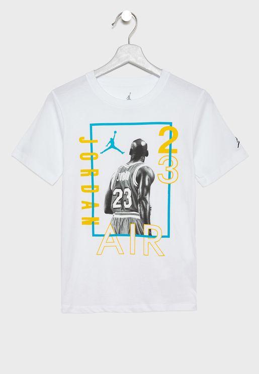 Youth Jordan Back To Win T-Shirt