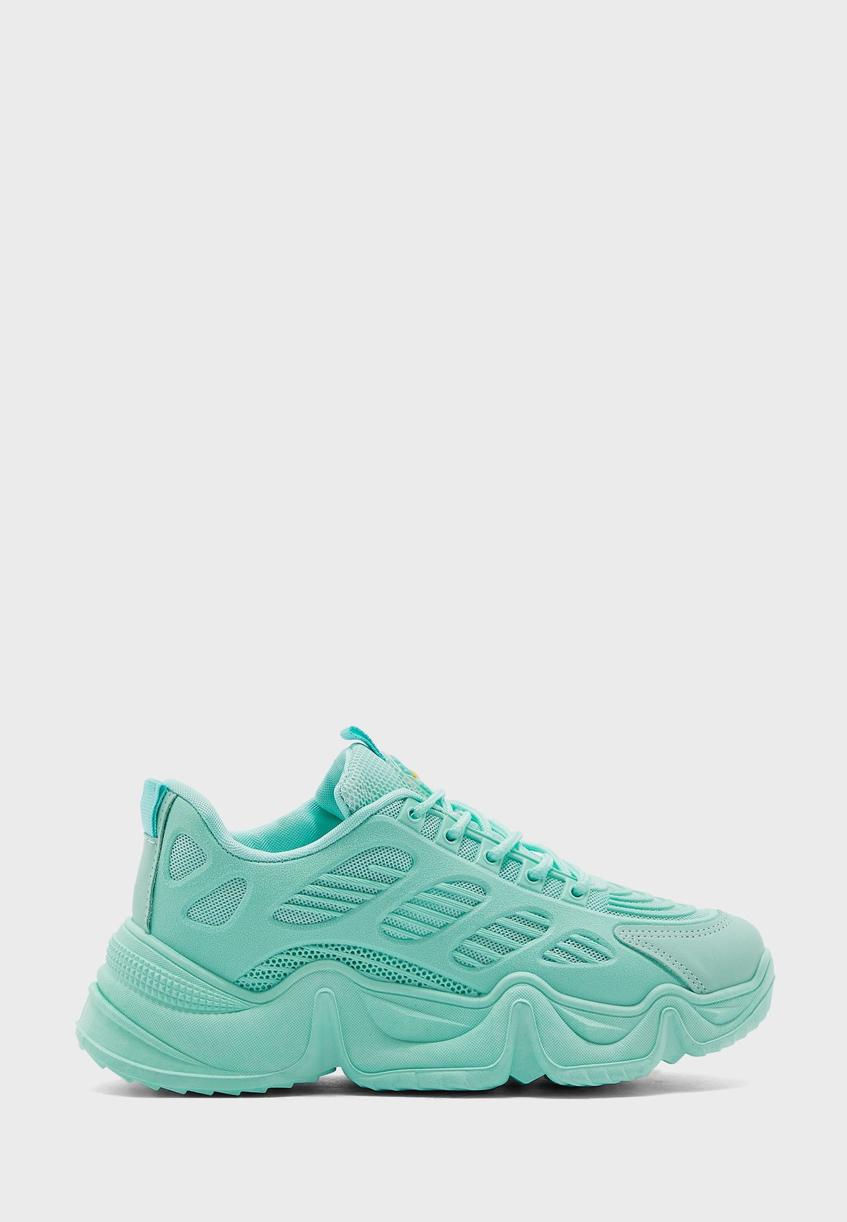 Monotone Chunky Sneaker