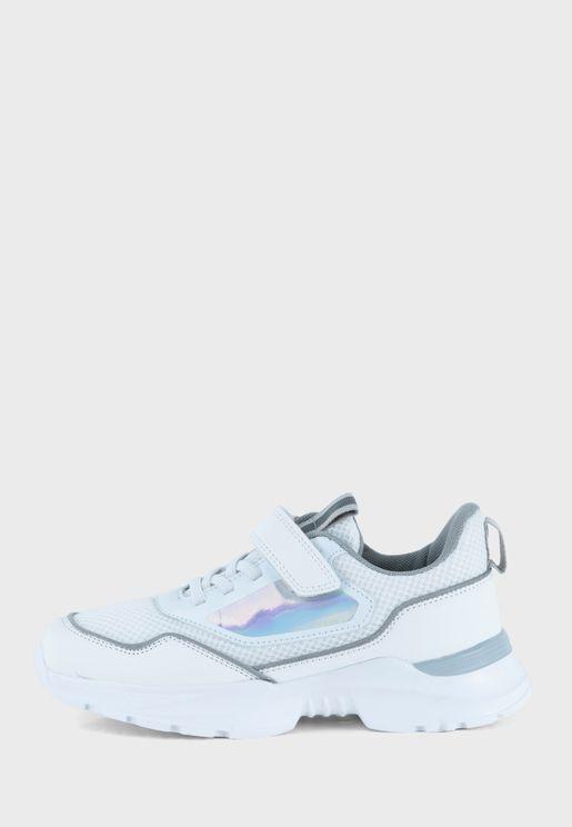 Youth Olivia Velcro Sneaker