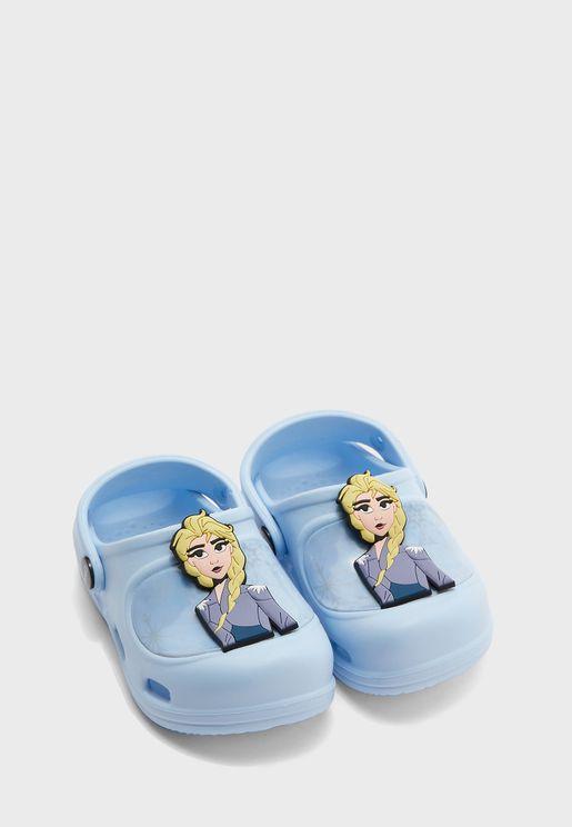 Kids Disney Frozen 2 Clog Sandal