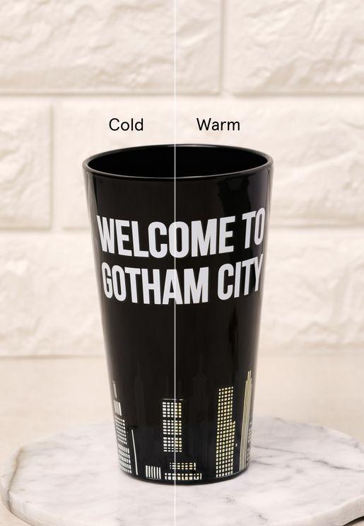 Batman Bat Signal Cold Changing Glass