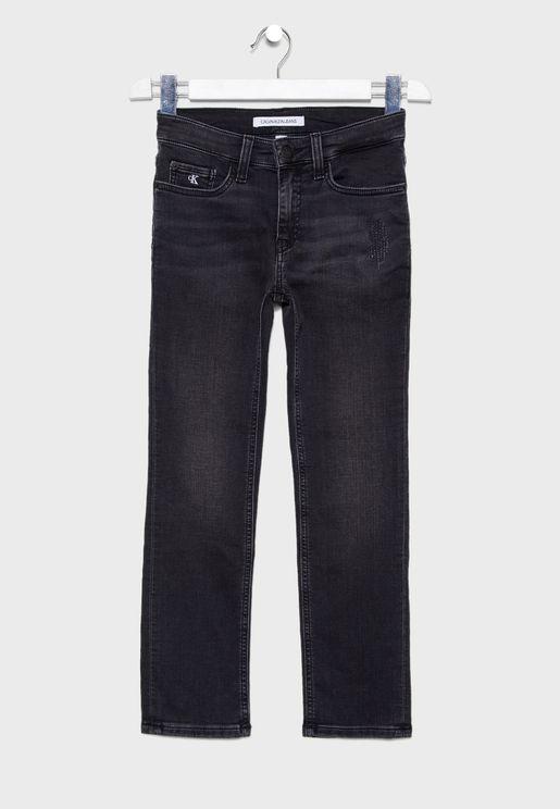 جينز قطن خالص