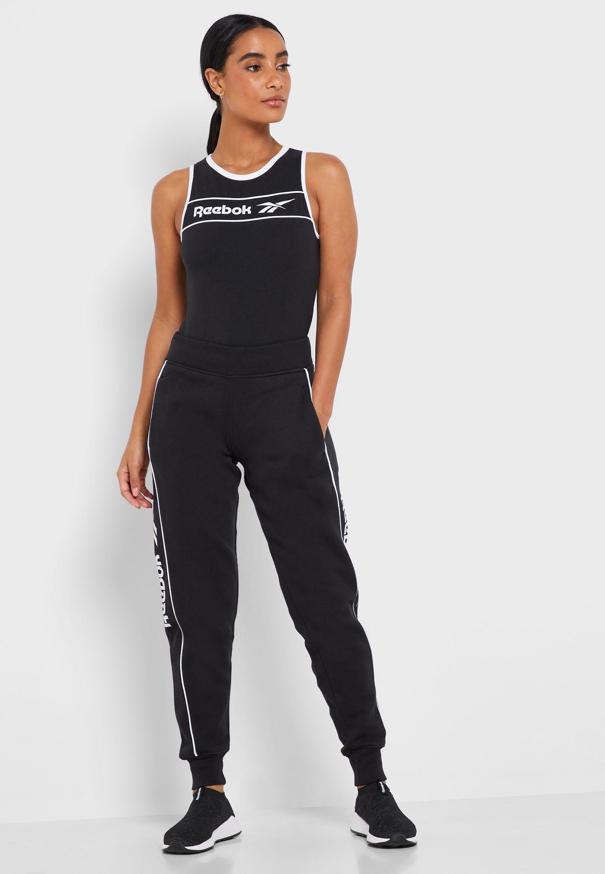 reebok women's fleece joggers