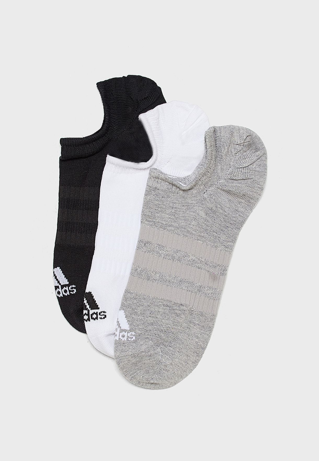 3 Pack No Show Socks