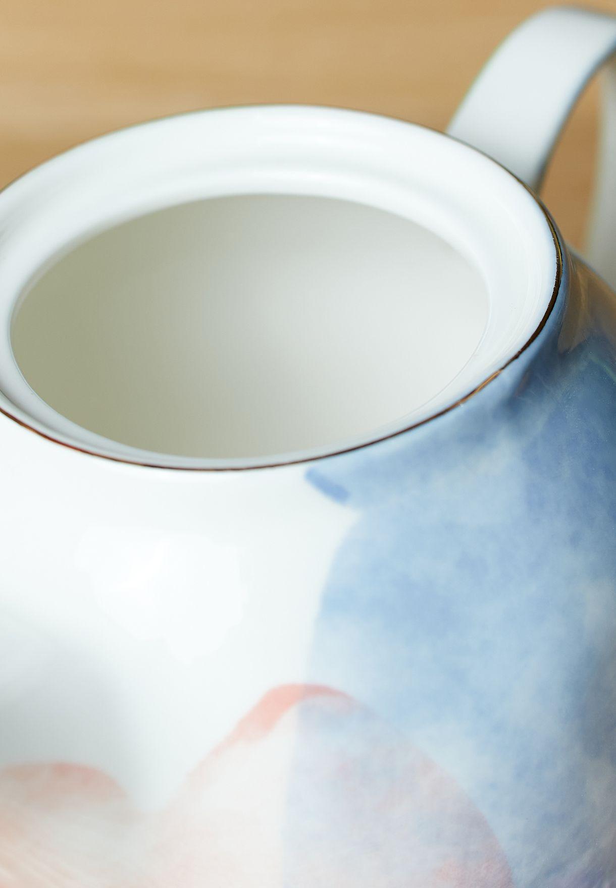 ابريق شاي ملون