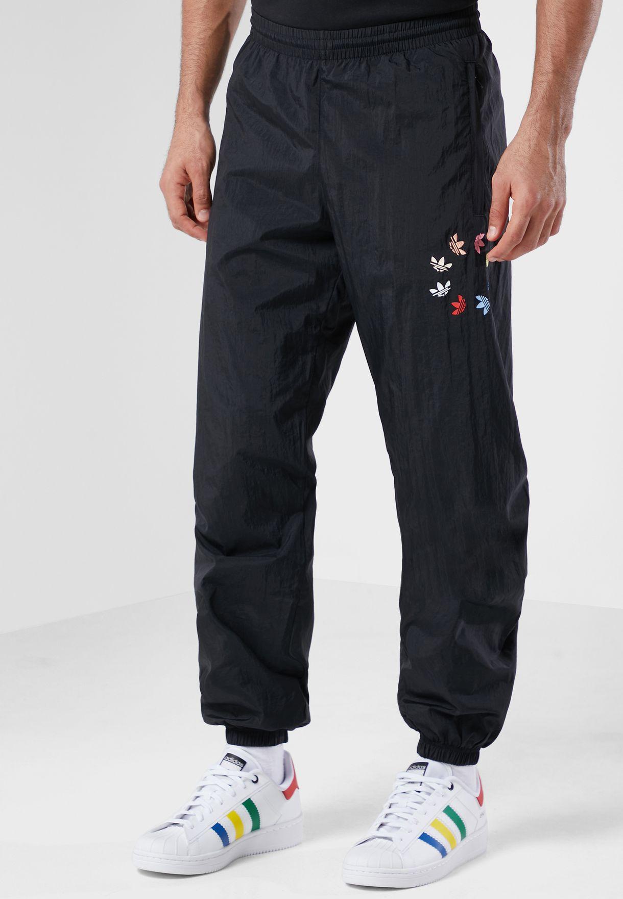 Shattered Trefoil  Woven Sweatpants