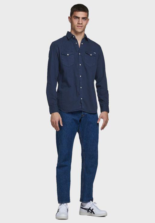 Western Slim Fit Shirt