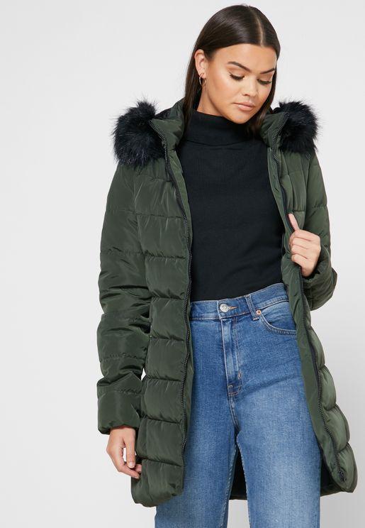 Puffer Hooded Coat