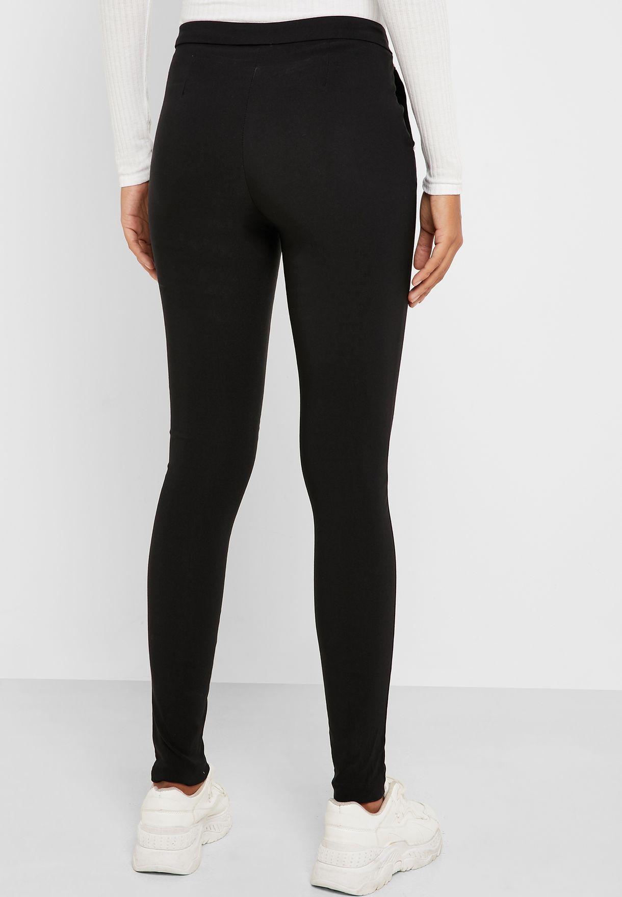 High Waist Slim Pants
