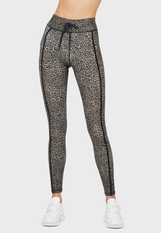 Leopard Yoga Leggings